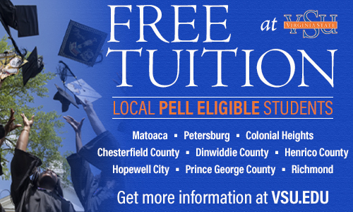 Free Tuition at VSU for local Pell eligible students